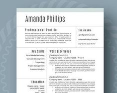 Resume Templates Modern Resume Template for Word Page Resume Cover Student Resume Template, Modern Resume Template, Resume Templates, Templates Free, Blogger Templates, Cover Letter For Resume, Cover Letter Template, Cover Letters, Good Resume Examples