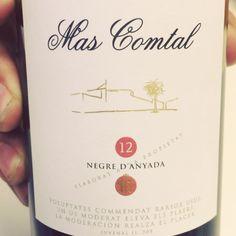 Mas Comtal Negre d'Anyada 2012 (Penedès) #vino #tinto #videocata #uvinum