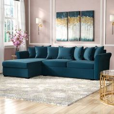"""Willa Arlo Interiors Elissa Velvet 72"""" Round Arm Settee 