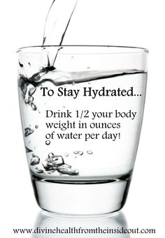 52 Healthy Habits: #1 Stay Hydrated! | Divine Health