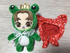 "Exo Doll Xiumin Doll ""Frog Prince Xiumin"" Korea Fanmade Plush Doll | eBay"