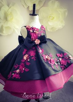 Kids Prom Dresses, African Dresses For Kids, Baby Girl Party Dresses, Party Gowns For Kids, Cute Dresses, Flower Girl Dresses, Little Girl Gowns, Gowns For Girls, Frocks For Girls