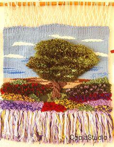 Weaving Art, Tapestry Weaving, Macrame Owl, Textile Fiber Art, Wall Decor, Wall Art, Weaving Techniques, Wall Hangings, Loom