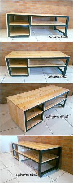 Want to make your house look attractive for others? Well, here comes the appealing idea of the amazing pallet media table right now. Media table designing do require the pallet stacking arrangement over one another that not just look modish but sophisticated too.