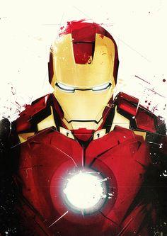 Iron Man by Boingflo