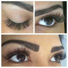 Russian Volume Lashes, an eyelash extension | JetsetBabe