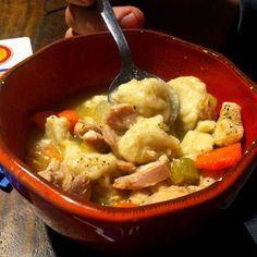 Chicken and dumpling soup (GF)