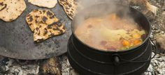 Vegetarian Potjie Recipe - vegan and oil-free for a size Serves 1 hour. Cheese Recipes, Veggie Recipes, Veggie Dinners, Veg Dishes, Cheese Lover, Plant Based Recipes, No Cook Meals, Cooking Time, Vegan Vegetarian