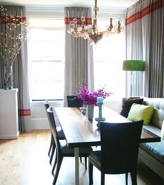 Sabon Home  Chairs  Pinterest  Window Contemporary Curtains Beauteous Drapes For Dining Room Decorating Design