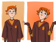 Loquacious Literature — Ginny doesn't need your approval, Ron. (But Harry...