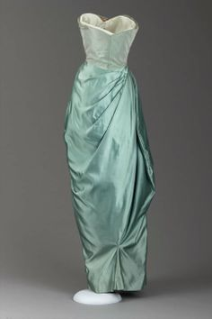 Evening dress American (New York City), 1950 Designed by Charles James, American (born in England), 1906–1978 Back