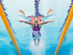 Ruta Meilutyte of Lithuania competes in the 100-meter breaststroke heats at the FINA World Championships in Kazan, Russia.  Clive Rose, Getty Images