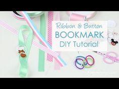 Ribbon Bookmark DIY Tutorial