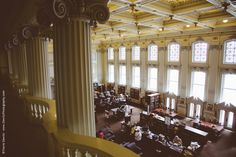 Wisconsin Historical Society (Dewitz Photography) - the Reading Room, 2nd floor