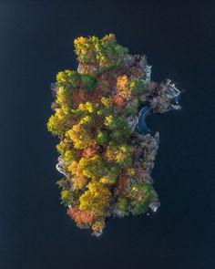 aerial photo of island Sunrise over small island outside stockholm sweden Landscape Photography Tips, Aerial Photography, Drones, Aerial Drone, Small Island, Birds Eye View, Aerial View, Amazing Nature, Belle Photo