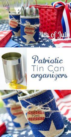 Patriotic Table Ideas - Surroundings by Debi