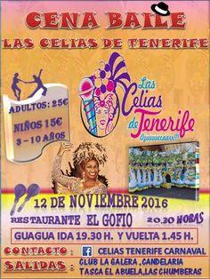 Grupo Mascarada Carnaval: Cena - Baile con las Celias de Tenerife