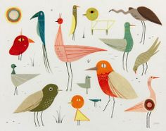 Dadu Shin - Birds - Nucleus Art Gallery