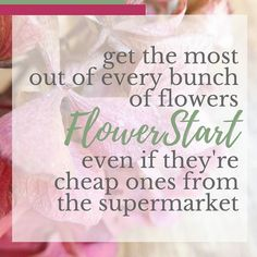 It's Friday - so it must be flower day! I'm looking forward to seeing what my #FlowerStart ladies come up with today