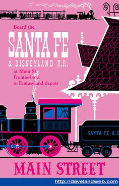 Santa Fe and Disneyland Railroad- because my daddy works for Santa Fe :)