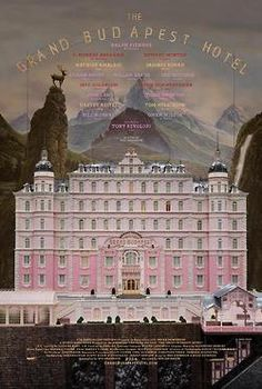 The first poster for Wes Anderson's 2014 project 'The Grand Budapest Hotel,' starring Ralph Fiennes, has been released!