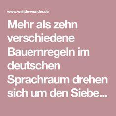 """Mehr als zehn verschiedene Bauernregeln im deutschen Sprachraum drehen sich um den Siebenschläfertag am 27. Juni. """"Wie das Wetter am Siebenschläfer sich verhält, ist es sieben Wochen lang bestellt"""", heißt es, oder auch: """"Ist Siebenschläfer nass, regnet's ohne Unterlass"""". An diesem Datum, so der Volksglaube, entscheidet sich, wie das Wetter in den kommenden Wochen wird. Aber stimmt das auch? Tatsächlich ist Siebenschläfer eine so genannte meteorologische Singularität. Das sind jedes Jahr…"""