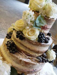 Theresa  Naked wedding Cake