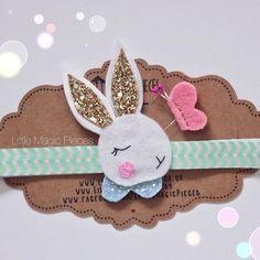 Dreaming Bunny Headband