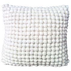 I pinned this Pom Pom Pillow in Ivory from the Textured Details event at Joss and Main!