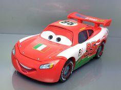 Disney Pixar Cars 2 Diecast Italy McQueen Rare F403