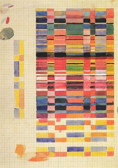 German textile artist Gunta Stölzl helped develop the Bauhaus' weaving workshops and was their first female Master.