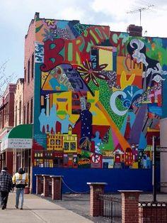 Street Installation, Graffiti Wall, Outdoor Art, Pittsburgh, 3 D, Street Art, Murals, Unique, Artist