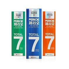 G마켓 - 페리오 토탈7 치약 120g x 3개 3,300원/1,512개
