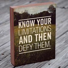 Know Your Limitations, $35, now featured on Fab.com