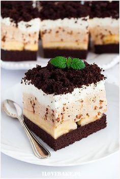 Polish Desserts, Polish Recipes, Cake Cookies, I Foods, Tiramisu, Bakery, Good Food, Food And Drink, Tasty