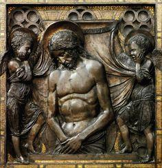 Donatello - Christ died (or Mercy) Basilica of Saint Anthony of Padua, Padua, Italy Italian Renaissance, Renaissance Art, Saint Anthony Of Padua, Italian Sculptors, Late Middle Ages, Plastic Art, Art History, Sculpture Art, Padua Italy