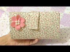 Como Fazer Carteira Feita com Caixa de Leite Sem Costura - Artesanato - YouTube