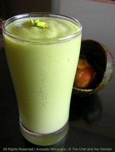 Butterfruit Milkshake / Avocado Milkshake