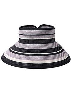 c5cc4fb4901 WENZHE Girls  Caps Visor Sun Hats beach hats summer Female Cellulose Anti-UV  Sun