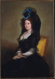 Narcisa Barañana de Goicoechea  Attributed to Goya (Francisco de Goya y Lucientes)  (Spanish, Fuendetodos 1746–1828 Bordeaux)    Medium:      Oil on canvas  Dimensions:      44 1/4 x 30 3/4 in. (112.4 x 78.1 cm)  Classification:      Paintings  Credit Line:      H. O. Havemeyer Collection, Bequest of Mrs. H. O. Havemeyer, 1929  Accession Number:      29.100.180    This artwork is not on display