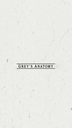 Lockscreen Grey's Anatomy