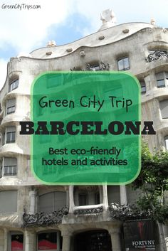 Best eco-friendly accommodation and activities in Barcelona on our Green City Destination page http://greencitytrips.com/destination/barcelona/ | ©GreenCityTrips.com | Check hotels availability and rates http://www.booking.com/city/es/barcelona.html?aid=802126