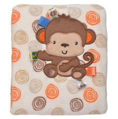 Monkey Tag Blanket