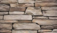 Eldorado's Rustic Ledge is a textured and layered full-scale ledge stone with long dimensional stones. Split along parallel planes, the stones possess distinctive textural foliation and pronounced rock cleavage. The stone sizes range from 1 to 4.5 inches in height and 6 to 20 inches in length with an average of 3 by 15 inches.