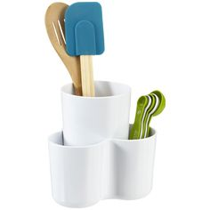 2-Piece Utensil Organizer from The Container Store.  I should probably get a couple of these.