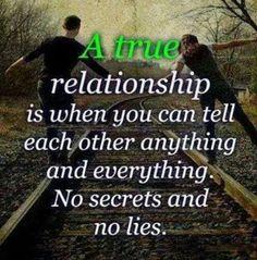 A true