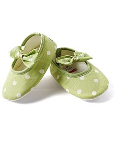 D'chica Shoes Polka Dot Shoes - Green and White http://www.firstcry.com/dchica-shoes/d'chica-shoes-polka-dot-shoes-green-and-white/635625/product-detail