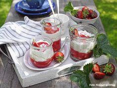 Erdbeer-Tiramisu Foto: Kramp+Gölling/Foodstyling: Christiane Steinfeld