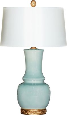 THE WELL APPOINTED HOUSE - Luxuries for the Home - THE WELL APPOINTED HOME Wyndham Blue Table Lamp with Shade