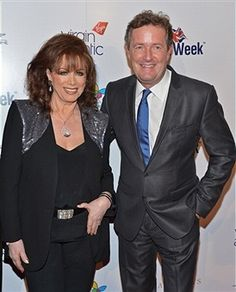 With Piers Morgan